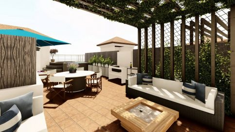 Rooftop terrace - Rooftop - Small Oasis Manilva