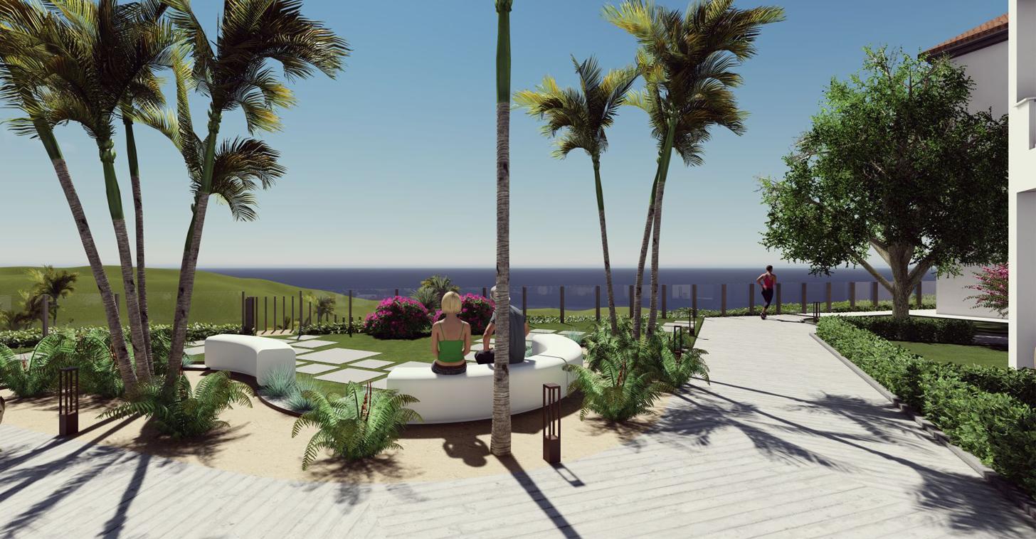 garden view - tuin uitzicht - Small Oasis Manilva
