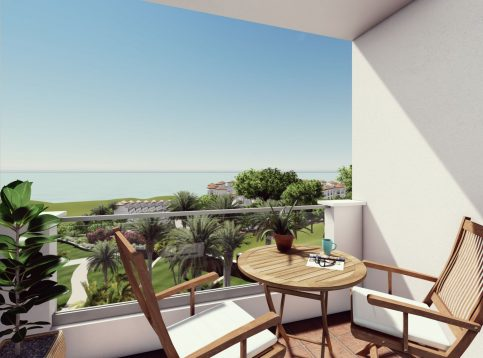 terrace 2 view - terrace 2 view - Small Oasis Manilva
